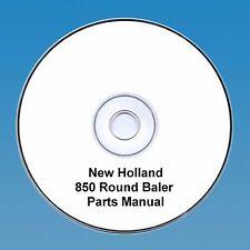 New Holland 850 Round  Baler Parts Manual