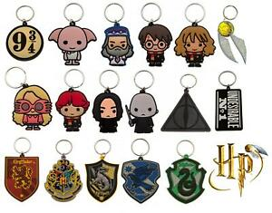 Harry Potter Keyring Chibi Official Licensed Rubber Character Gift Novelty