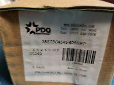 "PDQ FULL MORTISE HINGE 4.5"" X 4.5"" 652 US26D NRP Ball Bearing -QTY 3"