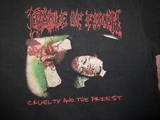 Cradle Of Filth TS Shirt Black Metal M-Medium Dark Funeral Mayhem Frost
