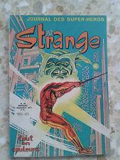 STRANGE N°45 EN BEL ETAT EO LUG 09/73 ( PLUSIEURS PHOTOS)