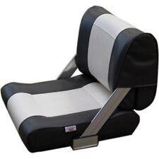 RELAXN® Tasman Series Boat Seat Flip Back Sport Marine Dark Grey Upholstered