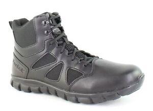 Reebok Mens Sublite Black Military Boots Size 10 (1422816)