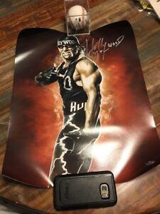 WWE / WCW HOLLYWOOD HULK HOGAN AUTO SIGNED 16X20 TRISTAR CERTIFIED NWO WRESTLING