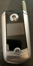 Motorola V710 Silver (Verizon) Cell Phone Fast Ship Vintage Parts Very Good Used