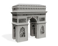 PaperLandmarks ARC DE TRIOMPHE  Paper Model Kit