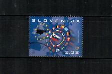 SLOVENIA Scott's 741a European Union Council F/VF used S/S single ( 2008 )