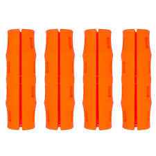 Snappy Grip Safety Orange Ergonomic Replacement Bucket Handles 4 Pack