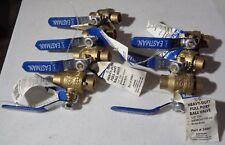 """7-Eastman Heavy Duty Full Port Valves 1/2"""" Brass Body New"""