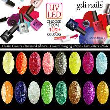 Gdi Nails UK Soak Off UV/LED Gel Nail Polish 165+ Colours + FREE OPI NAIL FILE