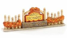 Miniature Dollhouse Fairy Garden Harvest Sign w/ Fencing - Buy 3 Save $5