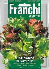 Franchi Seeds Lettuce Mixed Misticanza di Lattughe seed