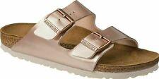 BNiB Birkenstock Arizona Women's Flat Sandals Metallic Copper 4.5 UK 37 EU