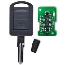 NEU Funk Fernbedienung Zünd Schlüssel OPEL HU46 433 MHZ 6239018 ID40 Transponder