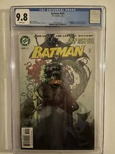 Batman 609 CGC 9.8 1st First Appearance of Tommy Elliott / Hush!! White Pages