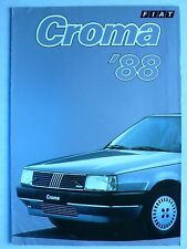 Prospekt Fiat Croma '88, 7.1987, 6 Seiten, folder