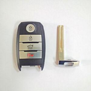 OEM Genuine Smart Key Remote & Blanking 2p For 2014 2015 Kia Optima : NEW K5