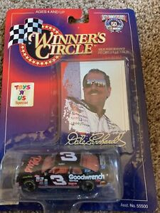 Winners Circle #3 Dale Earnhardt Toys R Us Special Black Monte Carlo 1/64