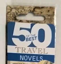 Magnetic Folding Bookmark 50 Best Travel Books by IF Gift Traveler Reader Book