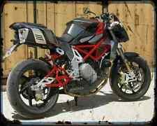 Bimota Db6 08 3 A4 Metal Sign Motorbike Vintage Aged
