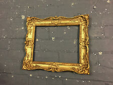Vintage Antique Baroque Décoration Or Doré & enduit/plâtre cadre photo, Medium