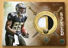 2012 Topps Football Nick Toon Jersey Patch Card 05/70