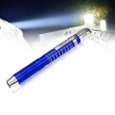 Blue Super Bright Waterproof 1000Lumens Led Flashlight Torch Pocket Penlight Pen