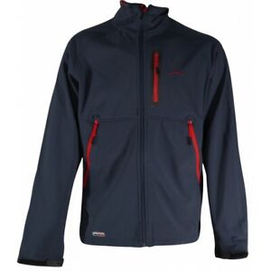 Wynnster Mens Pilgrim Zipped Fleece Jacket Coat Softshell Camping Walking BNWT