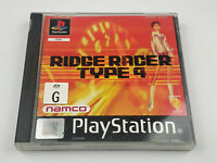 Mint Disc Ps1 Playstation 1 Ridge Racer Type 4 Free Postage
