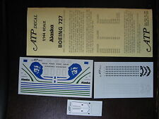 1/144 ATP DECALS BOEING 727-21 / -90C / -290  ALASKA    DECALCOMANIE