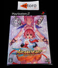 ARCANA HEART Sony PS2 PLAYSTATION2 Play Station 2 Japones New Nuevo Precintado