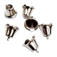 100 Silver 1.6cm Liberty Jingle Bells for Crafts | Craft Bells D7N7