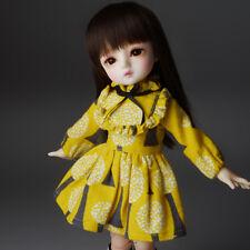 "[Dollmore]  1/6 BJD 10"" clothes only Dear Doll Size - Chichi Dress (Yellow)[K7]"
