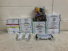 60 x Nintendo Wii Games  - Mario Sonic Just Dance Spyro Zumba Fit Rockband Fifa