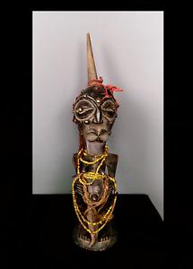 Old Tribal Songye Magical Power Figure   --- Congo