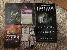 Blackstone Fortress Escalation. NO MODELS.