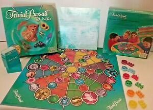 Trivial Pursuit for Kids Board Game Parker Brothers Vintage 2007 Complete