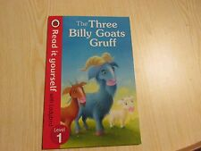LADYBIRD BOOK READ IT YOURSELF  LEVEL 1 THE THREE BILLY GOATS GRUFF