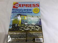 RAIL EXPRESS MAGAZINE FEB 2003 RIVIERA 47839 GETS OXFORD BLUE see pics