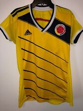 Adidas Colombia Soccer Jersey Girls Youth Large National Team