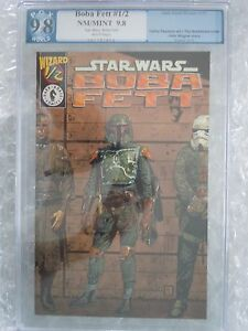 Star Wars Boba Fett #1/2 PGX 9.8  Dark Horse / Wizard 1997 GRADED COMIC