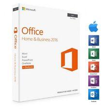 Microsoft Office 2016 Home & Business für Mac | Vollversion | Key