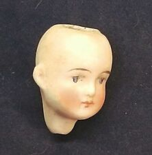 bisque head antique for a dollhouse doll  1.1""