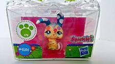 Littlest Pet Shop Shimmer N Shine 2156 Glitter Sparkle Bunny Rabbit LPS New 4+