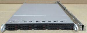 SuperMicro CSE-113M 1x Xeon E5-2630v2 2.6GHz 16GB Ram 2.25TB SSD 1U Server