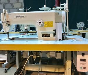 Brother Industrial Sewing Machine Flat Bed Straight Lockstitch With Servomotor