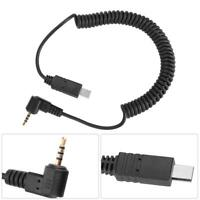 2.5mm S2 Shutter Release Connecting Cord Cable for Sony A7 A7R A6000 A58 HX300