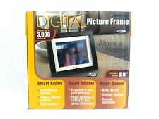 Smartparts Digital Picture Frame 8 Inches Wood 3000 Pictures
