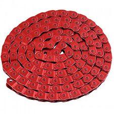 RED MEZZA 1/2 collegamento BMX / Fixie / SINGLE SPEED BIKE CHAIN-CONSEGNA GRATUITA