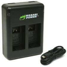 Wasabi Power Dual USB Battery Charger for Garmin VIRB 360 and Garmin